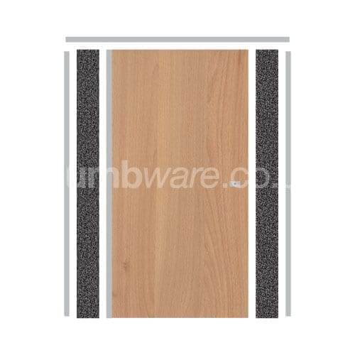 Pendle Cubicle Door in Beech Grain