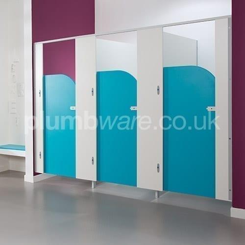 Plumbware Co Uk Pendle Junior Cubicle Door Pack