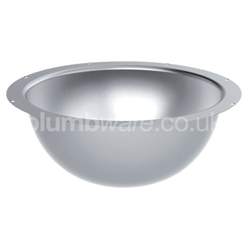 Stainless Steel - Under-Counter Inset Basin | Plumbware.co.uk