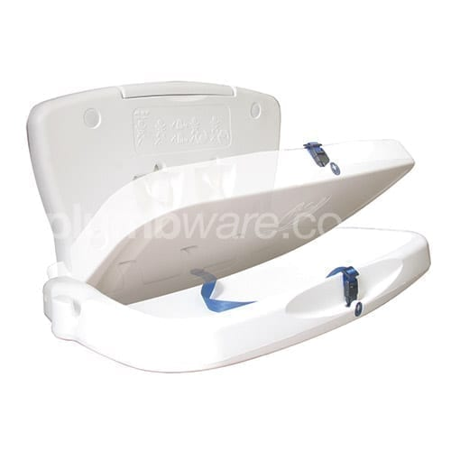 White, Horizontal Baby Change Unit