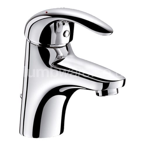 Single Lever Basin Tap with Pop-Up Waste