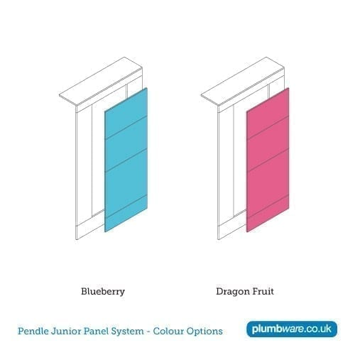 Panel colour options for Pendle Junior Panel System