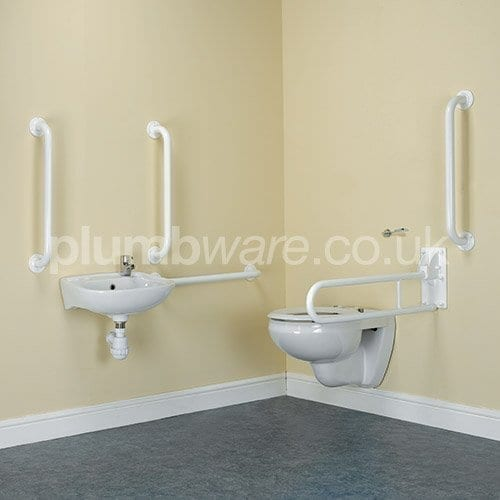 Document M Toilet Pack - Wall Hung option