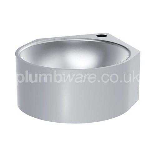 Stainless Steel Corner Washbasin