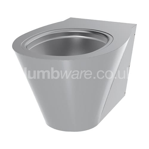 Stainless Steel Wall-Hung WC Pan